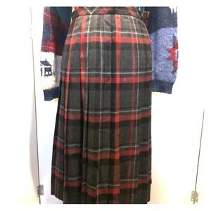 ♨️Vintage♨️ Made in 🇬🇧UK Kilt Pleaded Skirt